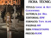 Reseña: Locke Vol. Clockworks, Hill Gabriel Radríguez