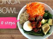 Receta: quinoa bowl video)