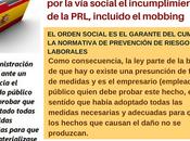 empleado público debe reclamar social incumplimiento PRL, incluido mobbing