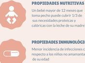 Infografía: lactancia materna después meses