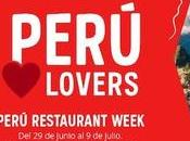 Gastronomía para #PerúLovers. Perú Restaurant Week Madrid Barcelona