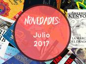 Novedades: Julio 2017