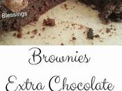 Brownies extra chocolate