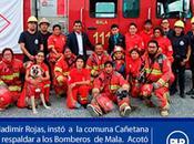 Amenazan bomberos mala…