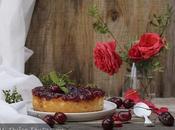 Tarta Queso Mermelada Cerezas
