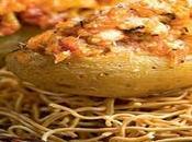 Patatas rellenas Pollo