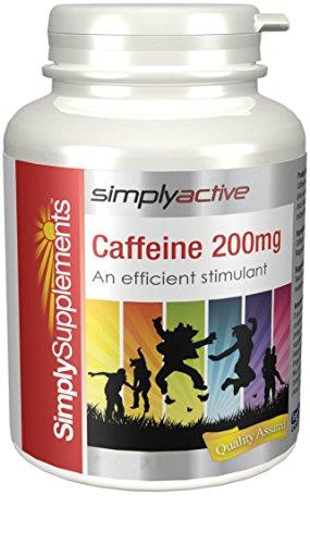 Cafeína 200mg | Estimulante natural | Mejora la concentración y el estado de alerta | 120 cápsulas