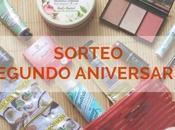 Segundo Aniversario Blog Sorteo