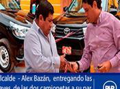 entrega camionetas para seguridad ciudadana lunahuaná…