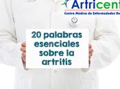 palabras esenciales sobre artritis