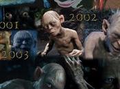 evolución gollum cine