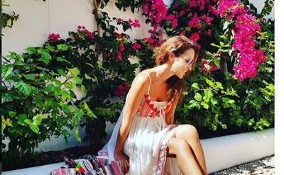 Paula Echevarría 'estalla' contra los fotógrafos en Marbella