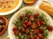 Hoy, ensalada verdolaga jardín (Portulaca oleracea)