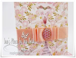 Invitaciones Baby Shower - Floral Designs