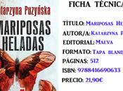 Reseña: Mariposas heladas, Katarzyna Puzyńska
