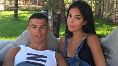 Georgina ya cuida de los gemelos de Cristiano Ronaldo