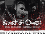 Scent death forma parte live madness metal fest