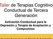 Taller Activación Conductual para Depresión Terapia Aceptación Compromiso Panamá Julio
