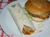 Hamburguesas pollo foiegras queso