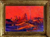 """calor terrenal """".óleo espátula lienzo. 12/7/1718..."""
