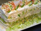 Pastel frio pollo sandwichón