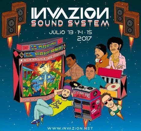 Afronautas en Vivo en el Invazion Fest 2017 (Jueves 13 de Julio) @Teatro Pablo Tobón