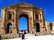 Ruinas Gerasa Jerash. Jordania