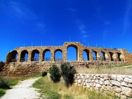Ruinas de Gerasa o Jerash. Jordania