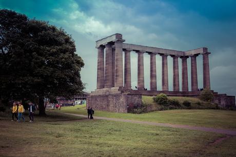 Carlton Hill. Edimburgo. Escocia