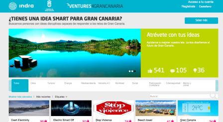 Indra y Gran Canaria: practican la Innovación Abierta