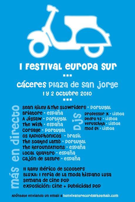 Cáceres Festival Europa Sur y Rally Ibérico de Scooters