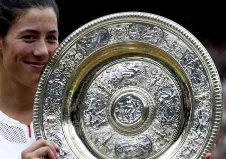 Garbiñe con la Aritmética en Wimbledon