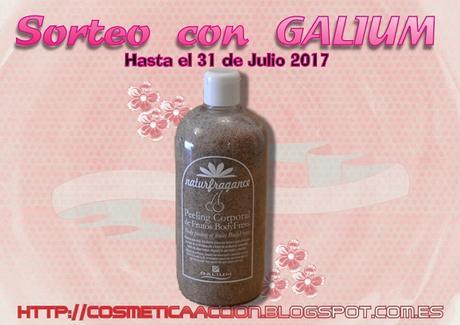 """¡SORTEO del Peeling Corporal de Frutos """"BodyFress"""" de GALIUM!"""