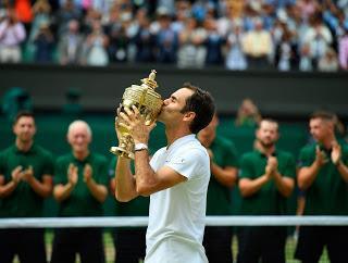 Roger Federer Octavo Wimbledon