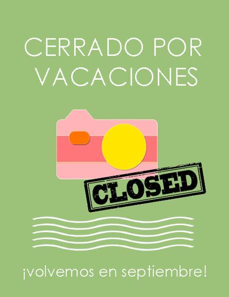 Green Pear Diaries, vacaciones, cerrado por vacaciones
