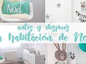 ANTES DESPUÉS: decoré habitación bebé Noel