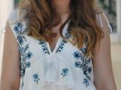 Embroided White Dress