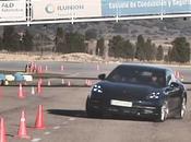 Porsche Panamera 2017 Maniobra esquiva (moose test) eslalon km77.com