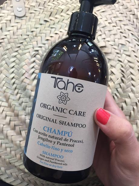 Nueva línea Organic Care de Tahe