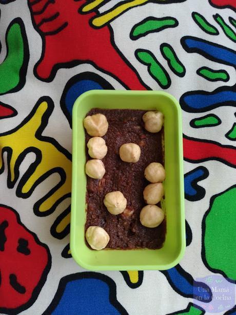 Idea para hacer en sandwichera: Dulce Tortita de Mariposa y Crema de Cacao y Avellanas Saludable sin leche