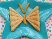Idea para hacer sandwichera: Dulce Tortita Mariposa Crema Cacao Avellanas Saludable leche