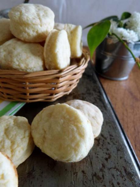 bizcochitos con 3 ingredientes | para la hora del mate