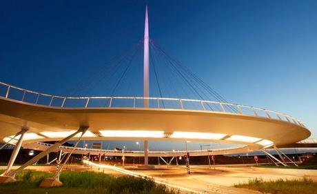 La impresionante rotonda aérea para bicicletas de los Países Bajos