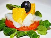 Carpaccio bacalao naranjas