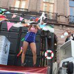 Realizan marcha del orgullo LGBT en San Luis Potosí: acude Lady Wuu