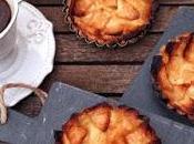 Tartaletas manzana crema pastelera