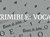 Ficha imprimible: Vocales mayúscula minúscula.