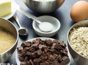 Receta galletas avena pepitas chocolate