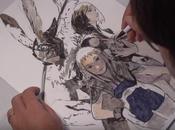Isamu Kamikokuryo realiza ilustración para Final Fantasy XII: Zodiac fines benéficos