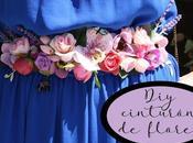 Diy: como hacer cinturón flores